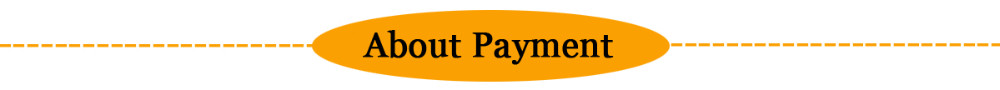 about payment