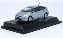 Silver Blue 1:43 TOYOTA Prius Diecast Model Car
