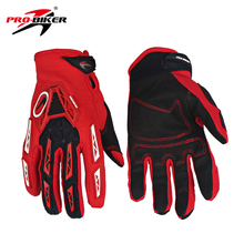 PRO-BIKER Men Women Motorcycle Racing Gloves Luvas Breathable Knight MTB Bike Bicycle Gloves Motocross Off-Road Riding Gloves(China)