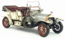 Antique Iron vintage car model 1909 vintage car convertible version gift Retro Vintage Automobile Car Model Cafe Bar Decoration