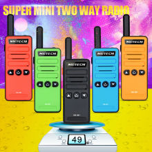 mini walkie talkie NK-M1 Radio model super small portable professional FM transceiver walkie talkie two way radio