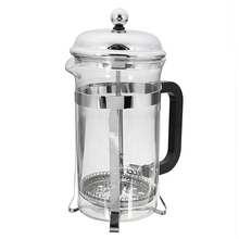 Hot Sale 600ML French Press Coffee Plunger Maker Leaf Carafe Stainless Steel Filter Coffee Pot Coffee Maker Kettle Tea Pot