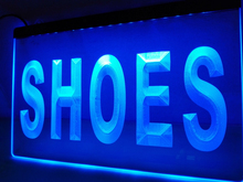 LB999- Shoes Supplier Display Metal Light Sign home decor crafts(China)