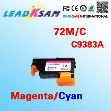 1x leadksam magenta/cyan printhead for hp72 C9380A 72M/C print head(China)