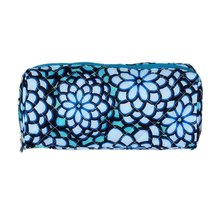 2017 New Fashion Cosmetic Bags with Fabrics fabrics and lace girl for Women Clutch Makeup sides Storage Bag(China)