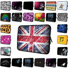 Shockproof Zippers Hot 7 10 12 13 14 15 17 15.6 14.1 13.3 11.6 10.1 7.9 Netbook Laptop Soft Cover Cases Neoprene Pouch Liner Bag