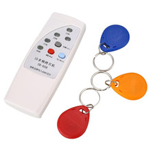 125KHz 250/375/500KHz RFID Handheld ID Door Access Card Copier Writer Duplicator Cloner DIY With 3 Writable Cards