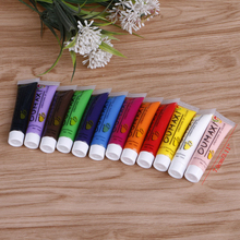 12 Colors 3D 12ml Nail Art Paint Tube Draw Painting Acrylic Nail Art Tip UV Nail Painting Color Gel Gel(China)