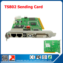 LINSN TS801/ TS802 Sending Card Full color LED Display Control System for All Full Color LED Modules LED Display Sending Card
