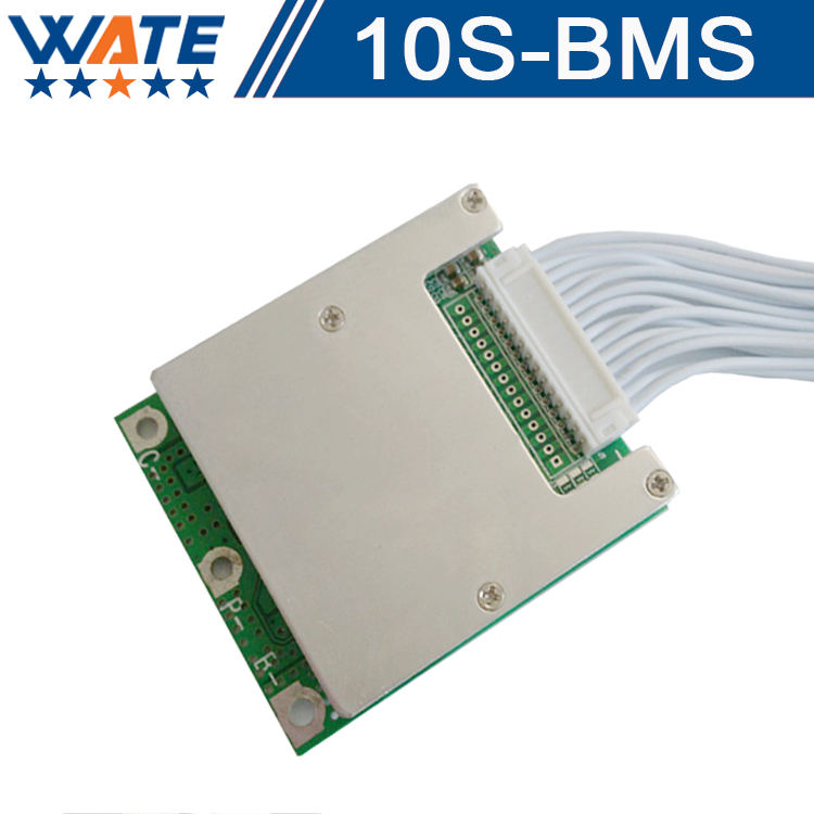 2Pcs/lot 3.6V/3.7V cell 10S 36V 10A/15A BMS Used battery 15A continuous 50A peak discharge With balance functionFree shipping<br>