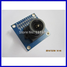 Free Shipping 5PCS/LOT ov7670 camera module Supports VGA CIF auto exposure control display active size 640X480
