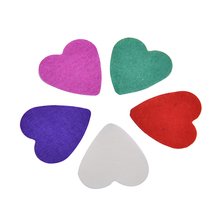 1 Bag Hot DIY Colorful Wedding Throw Confetti Heart Shape Sequin Confetti Dining Table Decoration Sell