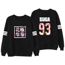 Buy Bangtan Boys Kpop BTS Sweatshirt young forever casual Women Hoodies J-HOPE SUGA V clothes femme clothing hip hop hoodie 4xl for $11.50 in AliExpress store