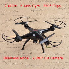 2015 New Version Syma X5SC 2.4G 6 Axis GYRO RC Quadcopter RTF RC Helicopter with 2.0MP Camera Syma X5C Upgraded(China)