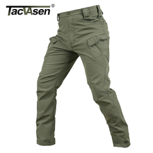 TACVASEN New Shark Skin Softshell Pants Military Tactical Pants Men Hunt Cargo Pants Male Waterproof Combat Trousers TD-JLHS-004(China)