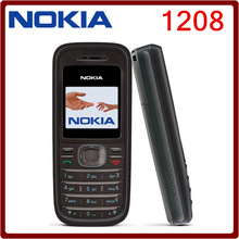 Original Cellular Nokia 1208 Cheap phones GSM unlocked phone Free shipping