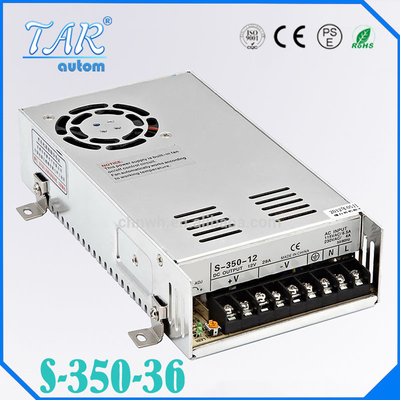 DC Power Supply 36V 9.7A 350w Led Driver Transformer 110V 240V AC to DC36V Power Adapter for strip lamp CNC CCTV<br>