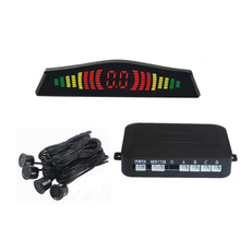 MALUOKASA Car Wireless Parktronic Reverse Radar Auto Parktronic System LED Display Wireless Parking Sensor Detector Monitor