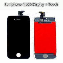 100% Guarantee No Dead Pixel Replacement Screen LCD For iPhone 4S Display With Digitizer Touch Screen Assembly Complete hot sale