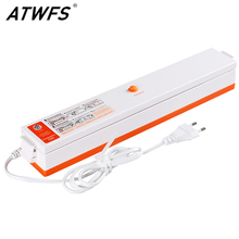 ATWFS Household Best Vacuum Bag Sealer Vacuum Packaging Machine Vacuum Packer Bag for Food Container Including 15pcs Bags Free(China)