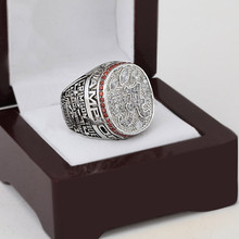 Free Shipping 100%copper NCAA 2012 Alabama Crimson Tide CHAMPIONSHIP REPLICA FAN RINGS Cubic Zirconia with wood Box as gift(China)