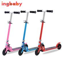 1pc Children's Scooter Flash Wheel New Children Scooter 2 Wheel Flash Children Folding Scooter Tricycle Baby Ride On Toy ingbaby