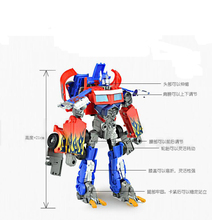 Fancy super Mars optimus prime transformer bumblebee