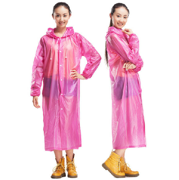 Womens Raincoats Reusable Waterproof rain long trench Single person Rainwear Plastic Red Top Quality Free Size Free Ship C92204<br><br>Aliexpress