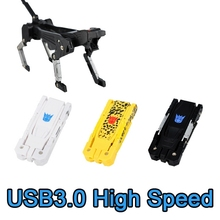 Creative Key Robot Dog USB Flash Drive 128GB 256GB Pen Drive Flash Memory Stick Card Disk Mini Key 64GB Pendrive 512GB 3.0 Gift