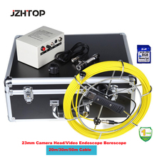 "Pipe,Sewer,Gutter,Chimney Clean, Deep Well,Pipe Cleaning Inspection Video Camera System with 7""DVR Recording,20m Cable(China)"