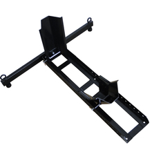 1800lb Heavy Duty Motorcycle Wheel Chock Adjustable Front stand(China)