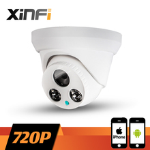 XINFI HD 1.0MP 1280*720P Indoor camera network CCTV IP camera Surveillance dome Camera P2P ONVIF 2.0 PC&Phone remote view