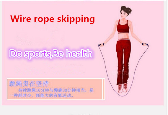 health sport  Professional electronic counting skipping rope skipping household easy weightloss and burn calories free shipping<br><br>Aliexpress