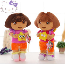 2-4 Years classic pacify 25cm Film animation Adventurous DORA doll baby plush toy children gift 1pc(China)