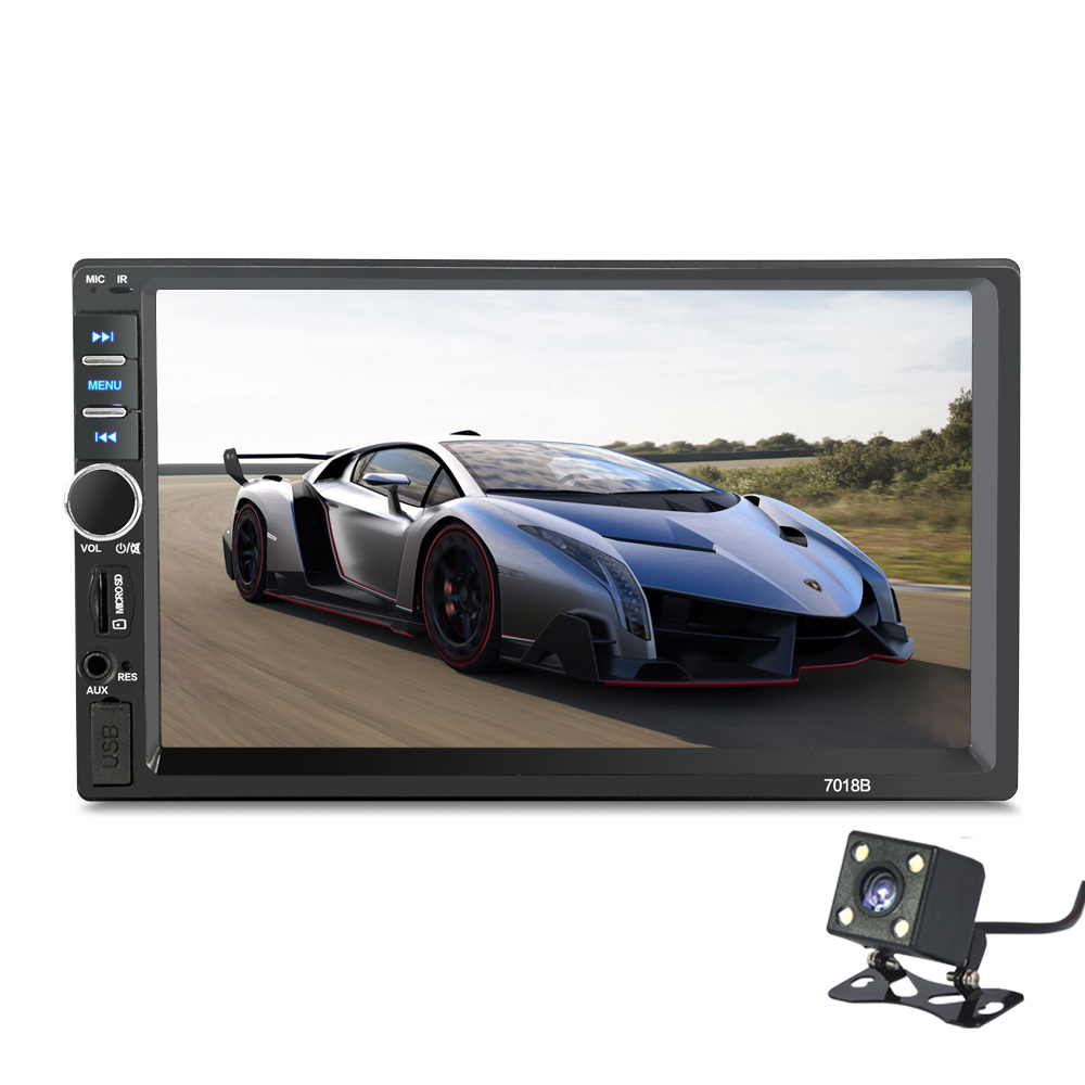 2 Din General Car Models 7'' inch LCD Touch Screen Car Radio Player Bluetooth Car Audio Support Rear View Camera(China (Mainland))