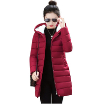 2018 New Winter Jacket Women Long Parkas Winter Down Wadded Jacket Female Cotton-Padded Jacket Warm Thickening Women Winter Coat(China)