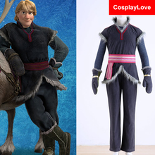 Stock Halloween Costumes For Men Snow Grow Elsa Anna Kristoff Cosplay Costume Cartoon Cosplay Adult Kristoff Costume