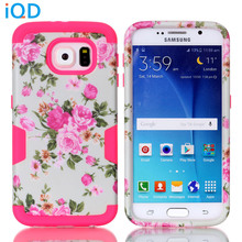 IQD For Galaxy S6 Edge case,For S6 case,Flower series Owl Cover - Ultimate protection for Samsung Galaxy S6 Edge Plus Case(China)