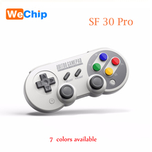 WeChip 8Bitdo SF30/SN30 Pro 2.4G USB Wireless Controller Gamepad For SNES Classic Edition vibration Motion controls USB-C SF/SN(China)