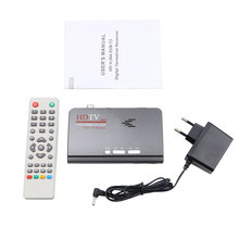 Smart TV Box EU/US Plug New HDMI Digital terrestrial TV 1080P VGA Version DVB-T/T2 TV Box AV CVBS Receiver Remote Control
