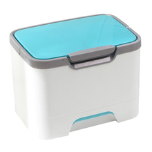 Handheld Cosmetics Box Case Medicine Cabinet Coded Locks Household Storage Box With Separate Compartments(China)