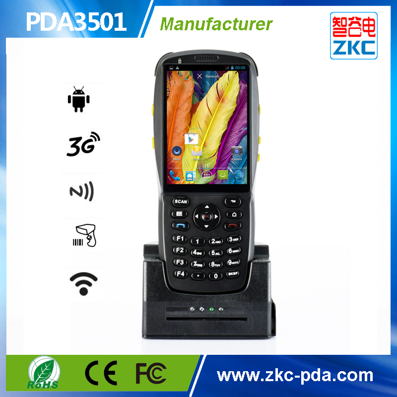 Free Shipping!Free Sdk! Handheld Computer Style pda Date Terminal 3G WiFi Nfc Card Reader with charger cradle