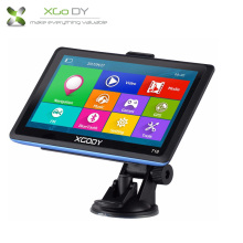 "XGODY 718 7 inch Car Truck GPS Navigation Bluetooth 128 8GB 7"" Navigator SAT NAV SYSTEM Unit Navigator Navitel Free Europe Maps(China)"
