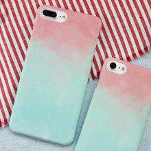 Ombre Blue Pink Colorful Mobile Phone Case iPhone 7&iPhone 7Plus Caqa Gradient Ramp IK2047-10 - Mocur Digital Store store