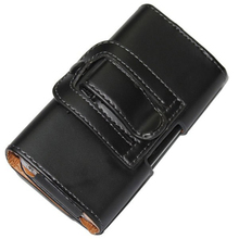 New Smooth pattern/Lichee Pattern PU Leather Phone Belt Clip For Samsung Galaxy Xcover 3 Cell Phone Pouch Cases