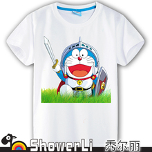 Cotton short sleeve children t shirts,cute cartoon,game boys girls t-shirt figure kids  A Dream machine cat new