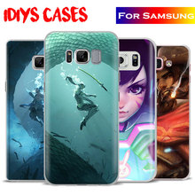 OW Games HANZO GENJI D.va REAPER Phone Case Cover For Samsung Galaxy S4 S5 S6 S7 Edge S8 Plus Note 8 2 3 4 5 A5 A710 J5 J7 2017(China)