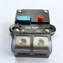 5pc/lot 300A 12V/24V Car Audio and Marine Fuse Holder Auto Circuit Breaker Manual Reset Switch,FH-38(China)