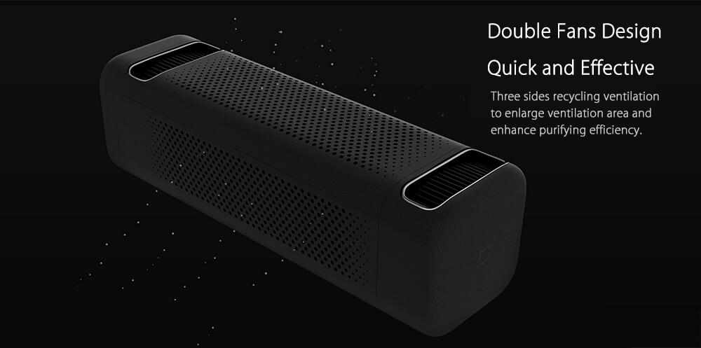 2018 New Original Xiaomi Car Air Purifier for car air cleaning In Addition To Formaldehyde Haze Purifiers Intelligent Household (5)
