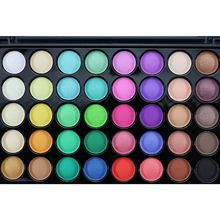 dresser Women Variety Girl's 40 Earth Colors Professional Matte Pigment Eyeshadow Palette Cosmetic Makeup Eye Shadow